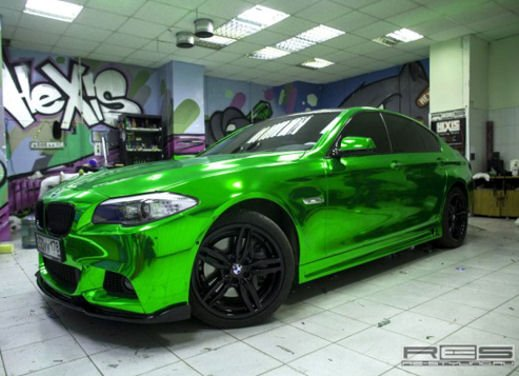 BMW Serie 5 M tuning cromato by Re-Styling