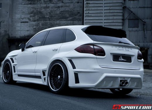 "Porsche Cayenne Turbo ""The Giant"" by ASMA Design - Foto 4 di 8"