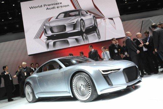 Audi R8 e-Tron confermata la produzione nel 2012 - Foto 11 di 14