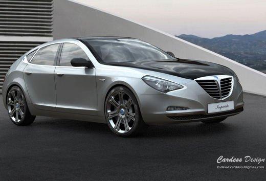 Lancia Imperiale Design Concept - Foto 4 di 8