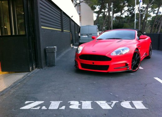 Aston Martin DBS Red Satin by Mansory & Dartz