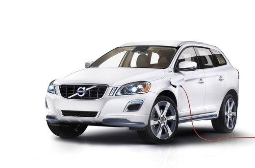 Volvo XC60 ibrida plug-in Concept - Foto 15 di 36