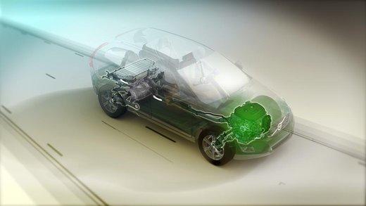 Volvo XC60 ibrida plug-in Concept - Foto 21 di 36