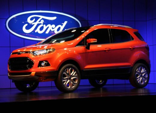 Ford Fiesta SUV al debutto come Ford EcoSport