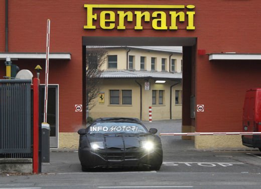 Ferrari 599 GTB video spia a Maranello