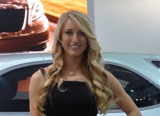 Le più belle donne del Salone di Detroit 2012