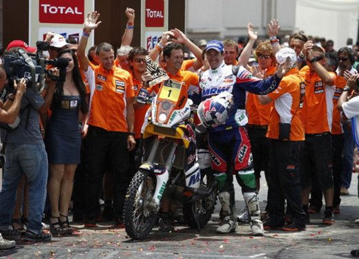 Dakar 2012 moto: video riassunto - Foto 12 di 88