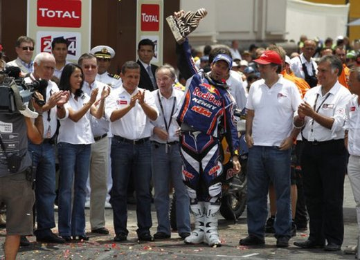 Dakar 2012 moto: video riassunto - Foto 13 di 88