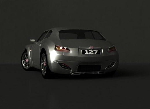 Fiat 127, i rendering di un nostro lettore che immagina la 127 del futuro - Foto 9 di 10