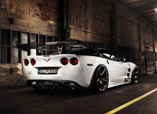Corvette C6 ZR1 tuning da 758 CV by TIKT