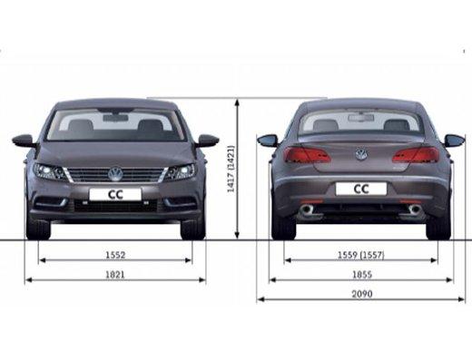 Volkswagen CC prova su strada - Foto 18 di 24