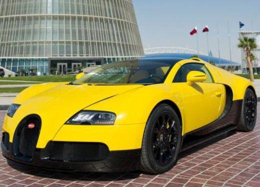Bugatti Veyron Grand Sport Special Edition al Qatar Motor Show - Foto 13 di 17