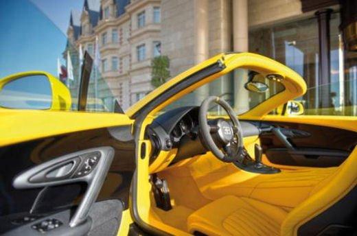 Bugatti Veyron Grand Sport Special Edition al Qatar Motor Show - Foto 16 di 17