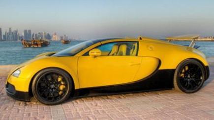 Bugatti Veyron Grand Sport Special Edition al Qatar Motor Show - Foto 7 di 17