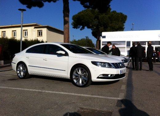 Volkswagen CC prova su strada