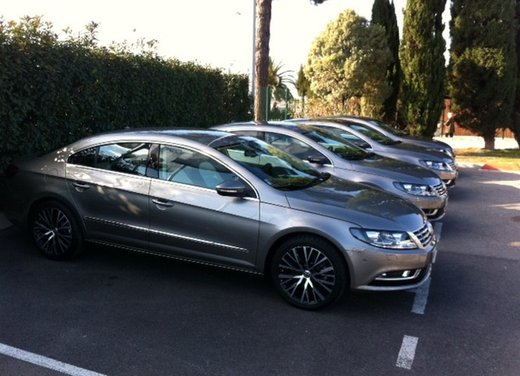 Volkswagen CC prova su strada - Foto 3 di 24