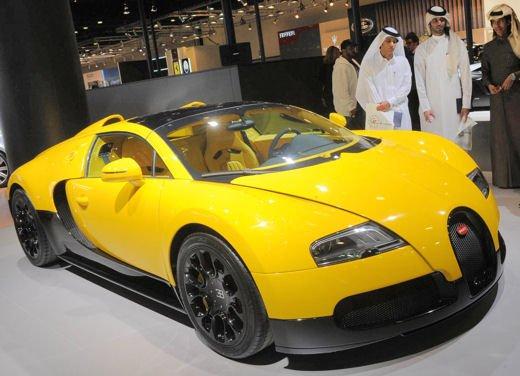 Bugatti Veyron Grand Sport Special Edition al Qatar Motor Show - Foto 1 di 17