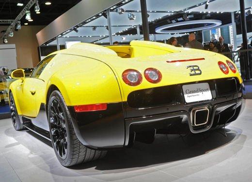 Bugatti Veyron Grand Sport Special Edition al Qatar Motor Show - Foto 3 di 17