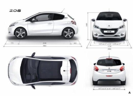 Peugeot 208 Access 3 porte con motore 12V 1.0 VTi da 68 CV a 11.650 € - Foto 46 di 48