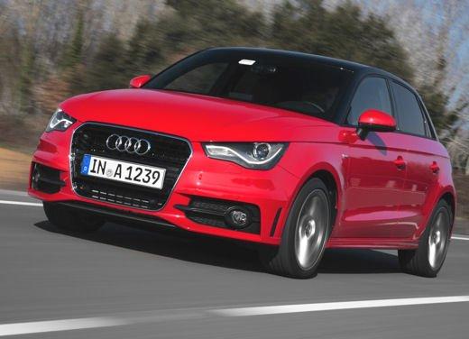 Audi A1 Sportback, test drive in Costa Brava