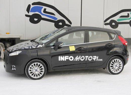 Ford Fiesta 2012, la nuova generazione pronta al debutto - Foto 19 di 24