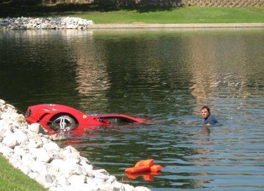 Incidenti Ferrari, tutti i crash più curiosi - Foto 6 di 22
