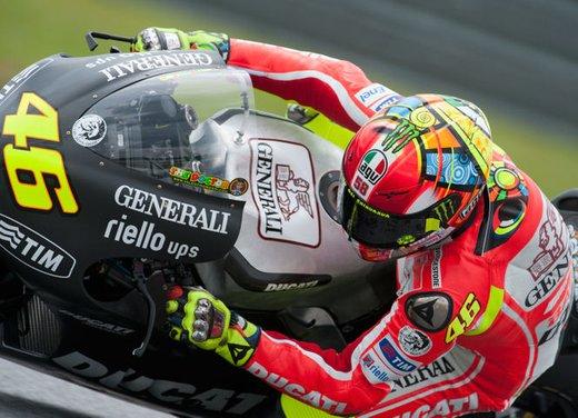 Valentino Rossi a 7 decimi nei test di Sepang in Malesia