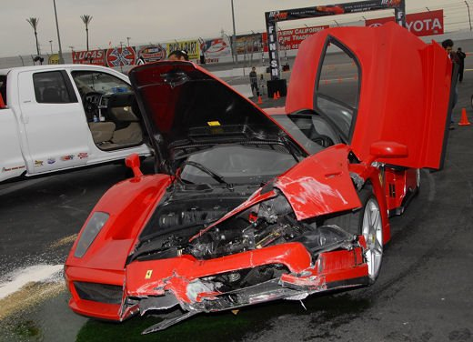 Incidenti Ferrari, tutti i crash più curiosi - Foto 15 di 22