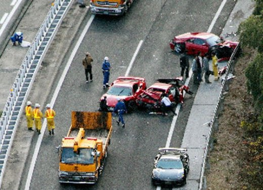 Incidenti Ferrari, tutti i crash più curiosi - Foto 22 di 22