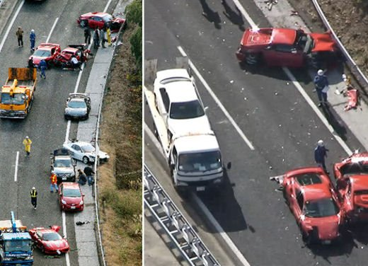 Incidenti Ferrari, tutti i crash più curiosi - Foto 2 di 22