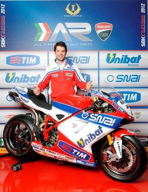 Superbike: presentato il Team Ducati Althea Racinig di Carlos Checa - Foto 6 di 12
