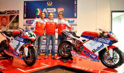 Superbike: presentato il Team Ducati Althea Racinig di Carlos Checa - Foto 5 di 12