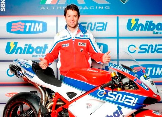 Superbike: presentato il Team Ducati Althea Racinig di Carlos Checa - Foto 1 di 12