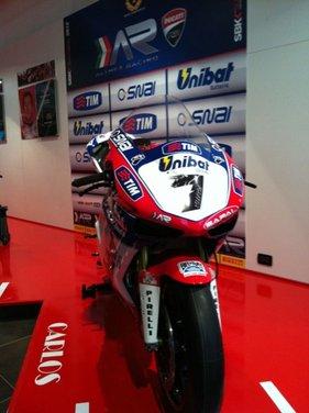 Superbike: presentato il Team Ducati Althea Racinig di Carlos Checa - Foto 3 di 12
