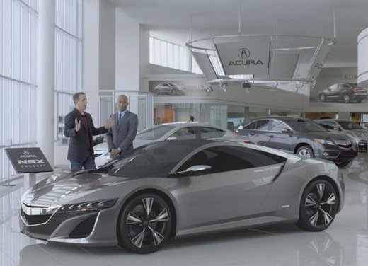 Acura NSX spot tv Superbowl 2012