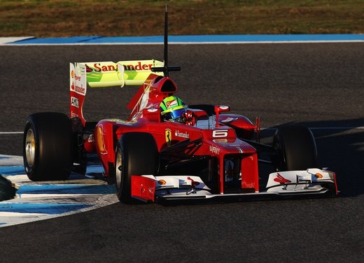 Ferrari F2012 ottava, Lotus prima nei primi test di Jerez - Foto 13 di 24