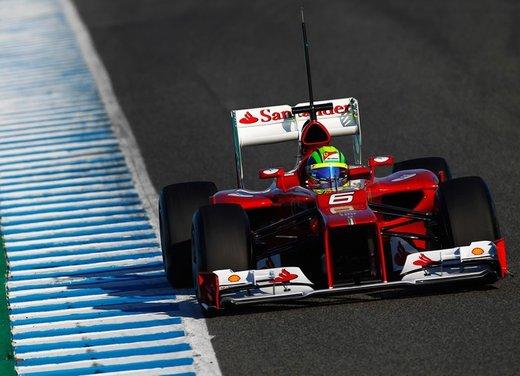Ferrari F2012 ottava, Lotus prima nei primi test di Jerez - Foto 18 di 24