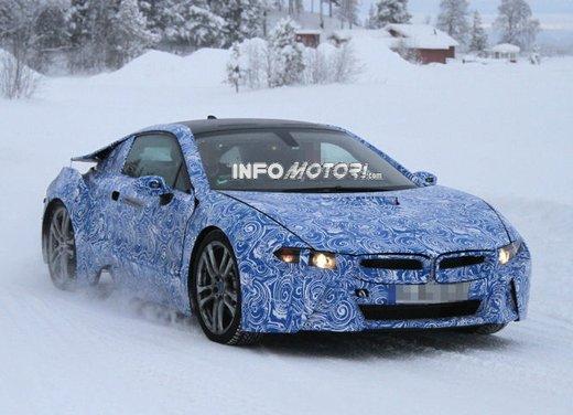 BMW i8 video spia dei test invernali al Circolo Polare Artico
