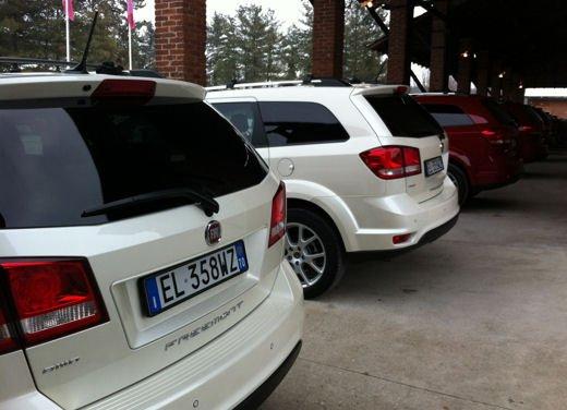 Fiat Freemont AWD provata su strada a Balocco - Foto 8 di 19
