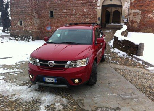 Fiat Freemont AWD provata su strada a Balocco - Foto 13 di 19