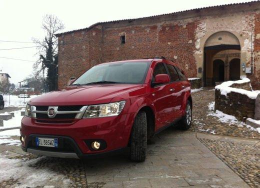 Fiat Freemont AWD provata su strada a Balocco - Foto 14 di 19