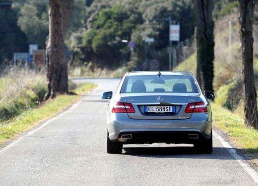 Prova su strada della Nuova Mercedes Classe E berlina, station wagon, cabrio e coupé - Foto 3 di 29
