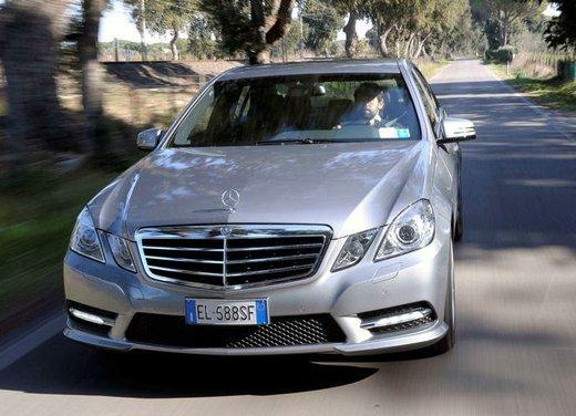 Prova su strada della Nuova Mercedes Classe E berlina, station wagon, cabrio e coupé - Foto 13 di 29