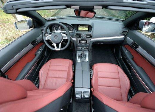 Prova su strada della Nuova Mercedes Classe E berlina, station wagon, cabrio e coupé - Foto 17 di 29