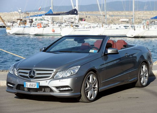 Prova su strada della Nuova Mercedes Classe E berlina, station wagon, cabrio e coupé - Foto 16 di 29
