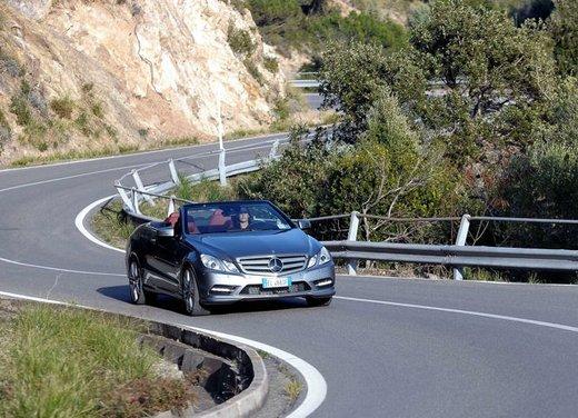 Prova su strada della Nuova Mercedes Classe E berlina, station wagon, cabrio e coupé - Foto 7 di 29