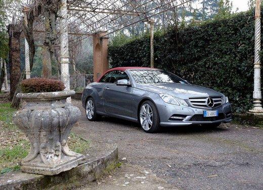 Prova su strada della Nuova Mercedes Classe E berlina, station wagon, cabrio e coupé - Foto 9 di 29