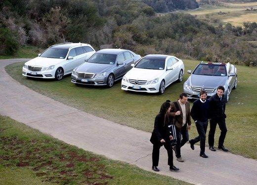 Prova su strada della Nuova Mercedes Classe E berlina, station wagon, cabrio e coupé - Foto 18 di 29
