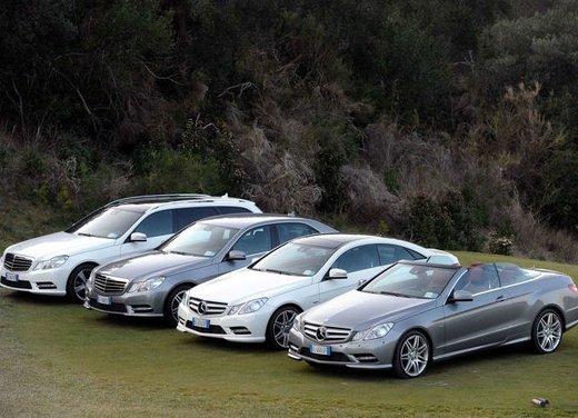 Prova su strada della Nuova Mercedes Classe E berlina, station wagon, cabrio e coupé - Foto 14 di 29