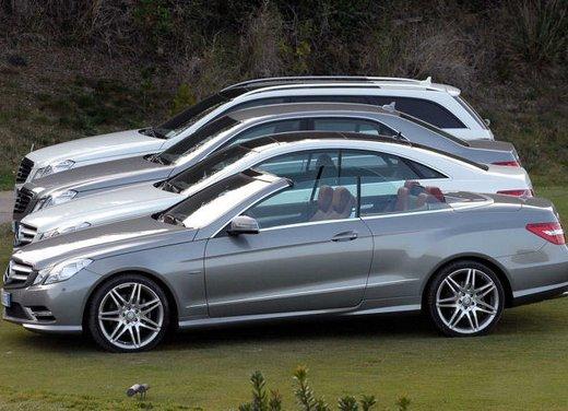 Prova su strada della Nuova Mercedes Classe E berlina, station wagon, cabrio e coupé - Foto 27 di 29